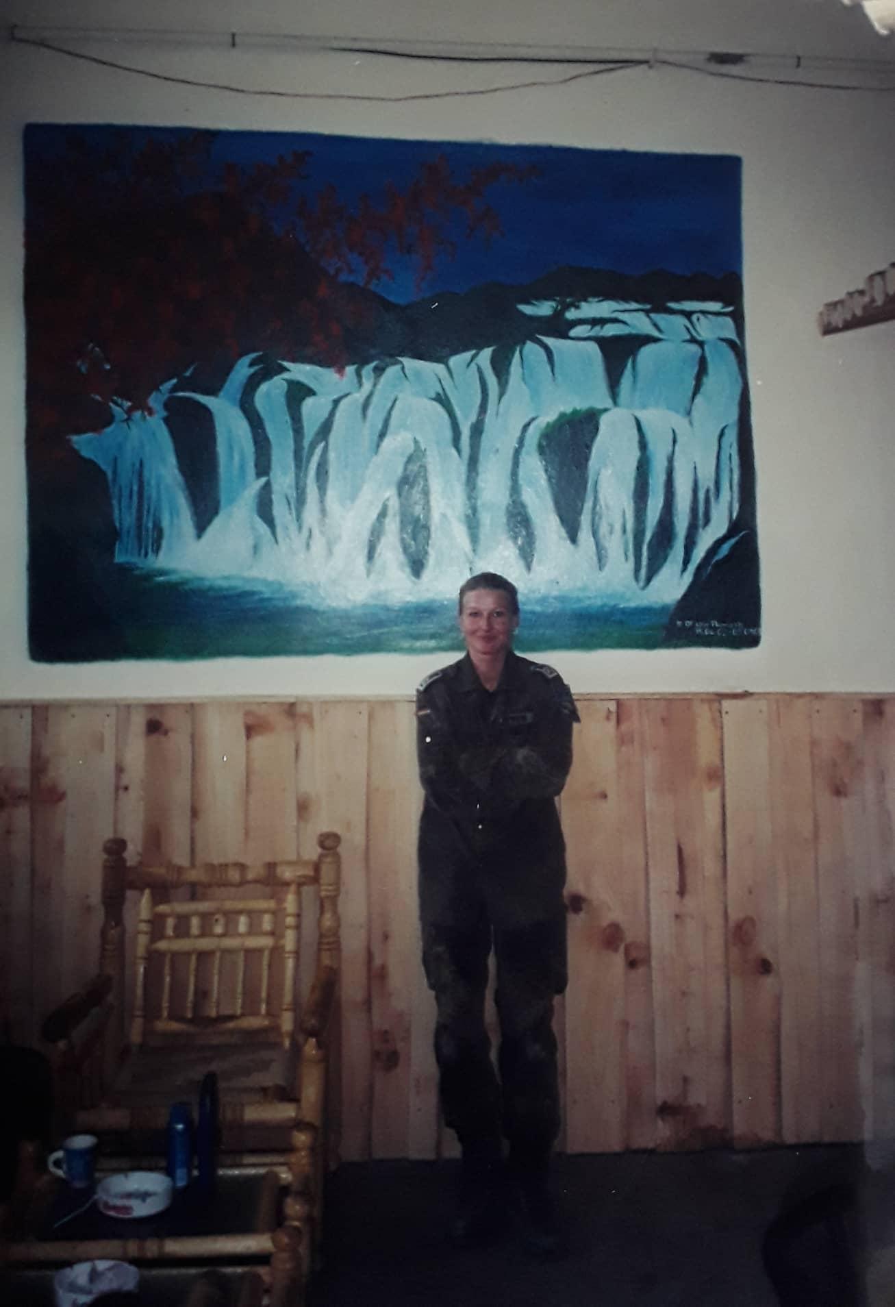 """Uta Paproth Afghanistan """"In der Freizeit hat sie in Betreuungseinrichtungen gemalt"""""""