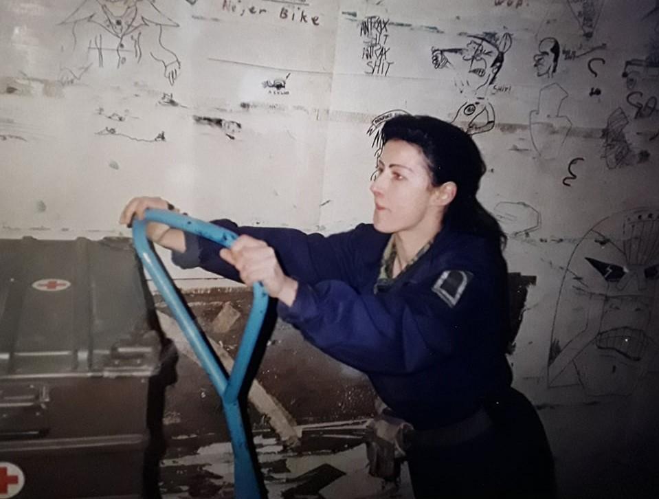 """Uta Paproth Trogir 1995 """"Instandsumschichtung"""""""