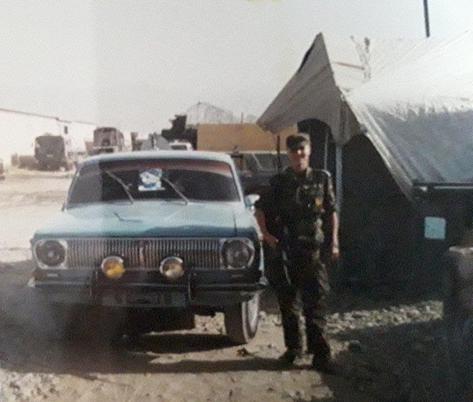 """Uta Paproth 2002 Afghanistan """"Oldtimer im Lager"""""""