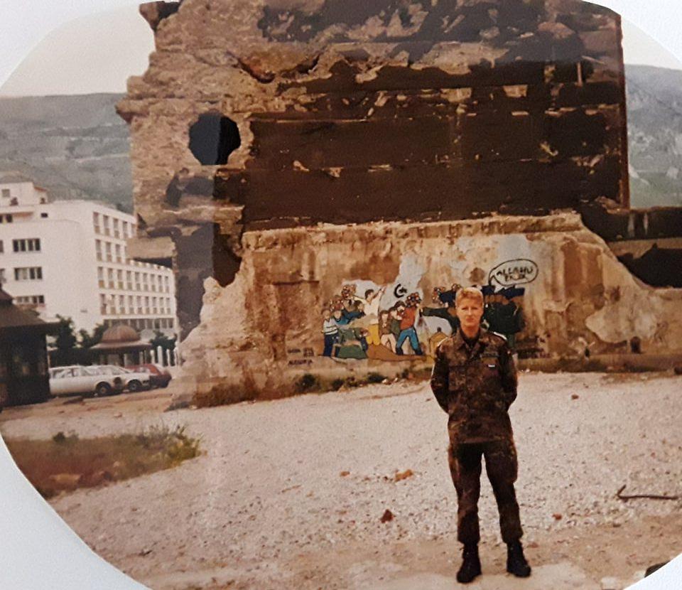 Uta Paproth 1998 Mostar