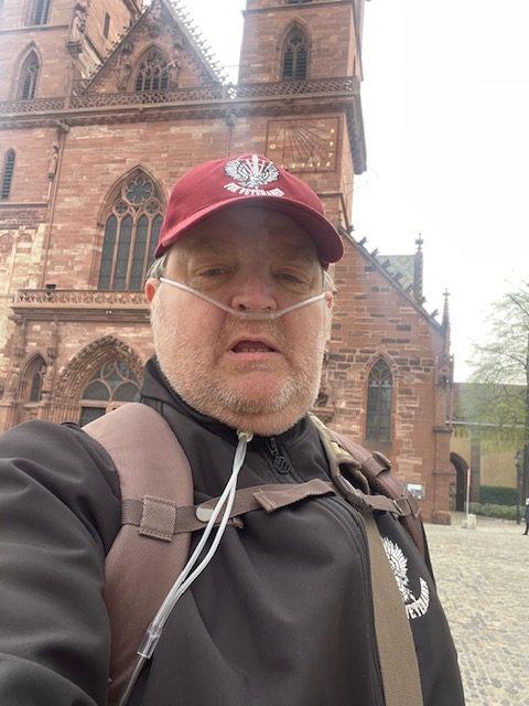 Die ersten Schritte vom Münster Basel